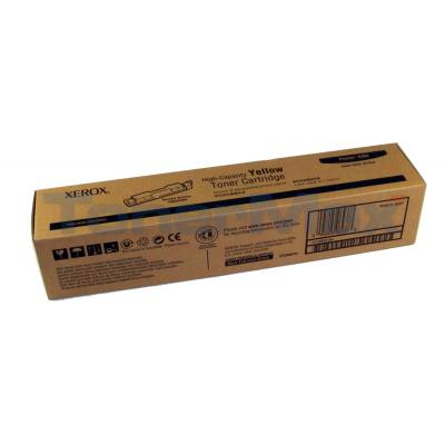 XEROX PHASER 6300 TONER CART YELLOW 7K